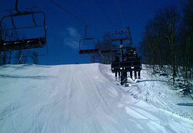 hell ya TGIF.. and enjoy empty slopes ,blue sky and sunny