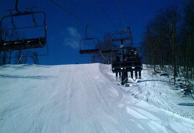 hell ya TGIF.. and enjoy empty slopes ,blue sky and sunny