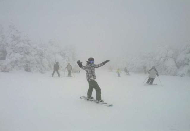 awesome snow at Pico