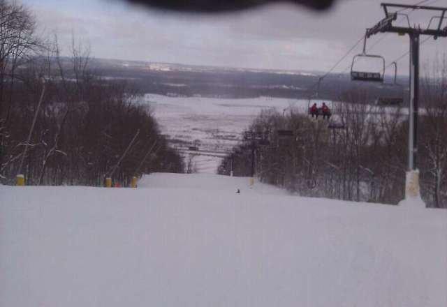 good snow today