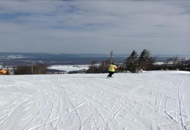 amazinggggggg skiing.