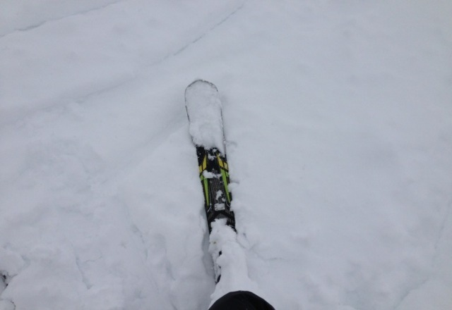 2 feet of fresh snow at linga and lindarets !!! perfect powder day