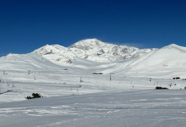 unreal week skiing, resort had a huge variety of runs :)