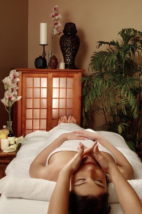 Rocky Mountain massages at the Keystone spa in Keystone, Colorado.