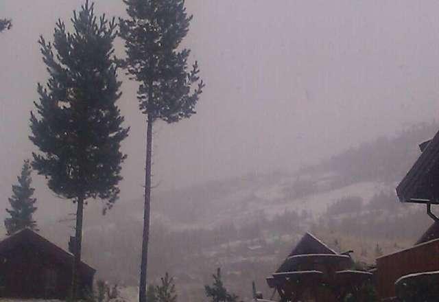 1 cm sn? til n? i dag.