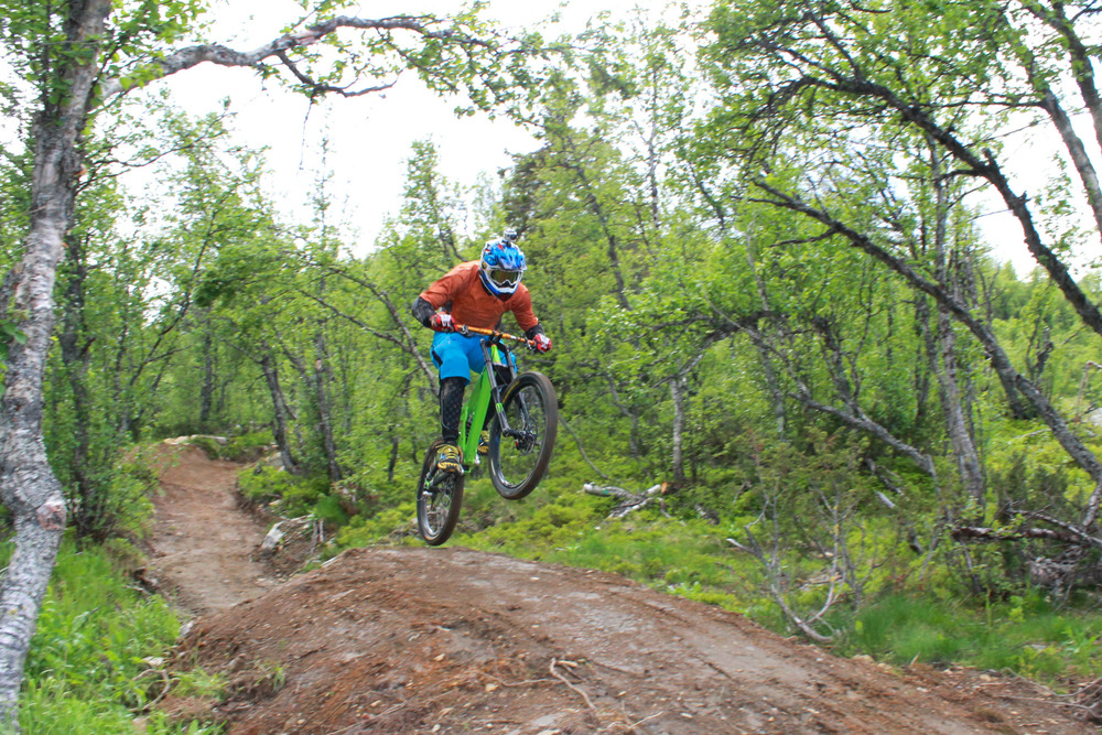 Geilo downhill biking 2013