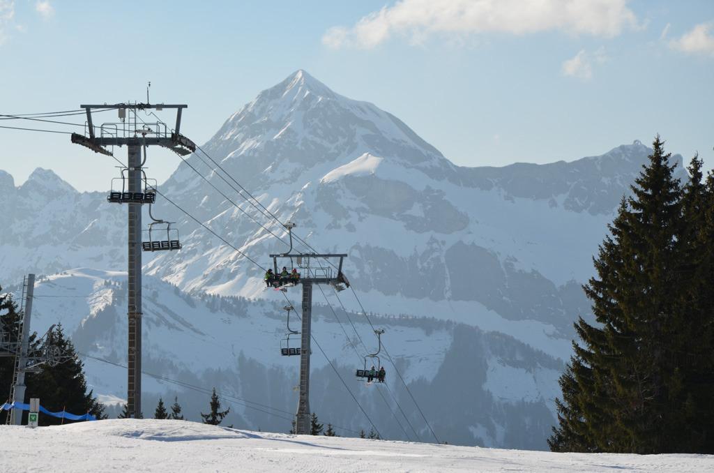 Crest Voland Cohennoz ski area - ©Office de tourisme du Val d'Arly