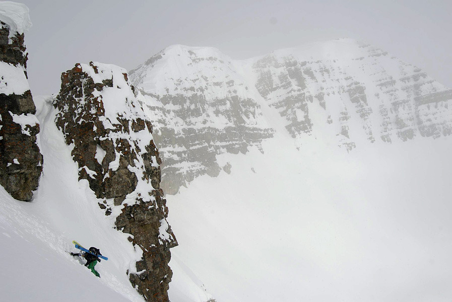 Emily Church training for off season adventures in Jackson Hole, Wyoming