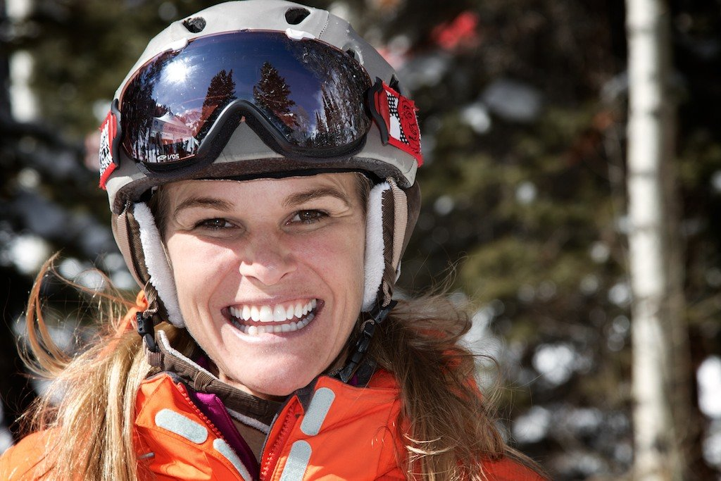 Megan Brown Brent: Two-time NCAA All-American, 2000 Skiercross World Champ, ski model