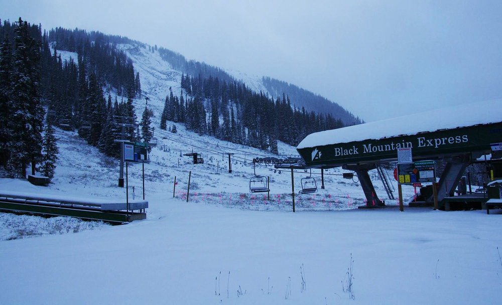 Preseason snow for Arapahoe Basin