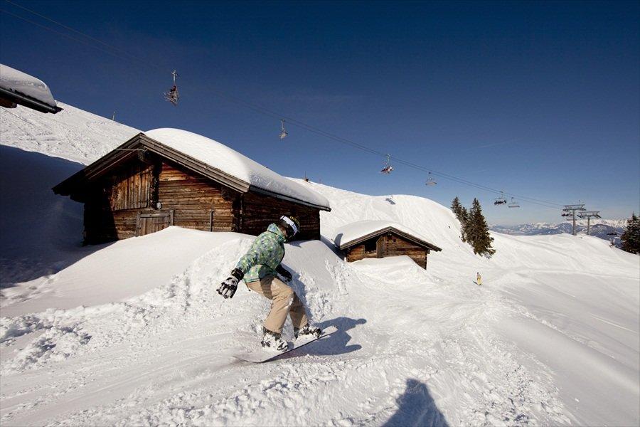 Snowboard-Fun in Wildschönau