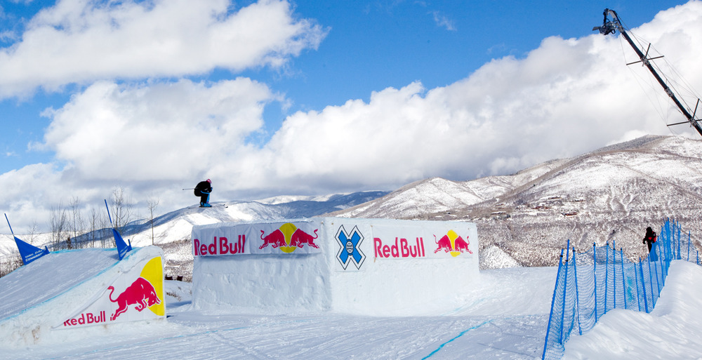 Men's and women's Skier X qualifiers were held Friday, the finals will be held on Sunday. Photo by Sasha Coben