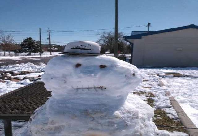 Frosty says Let It Snow!!