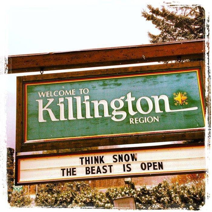 Killington open for business.
