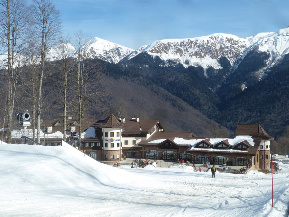 Rosa Khutor Mountain Lodge 2. - ©Brian Pinelli