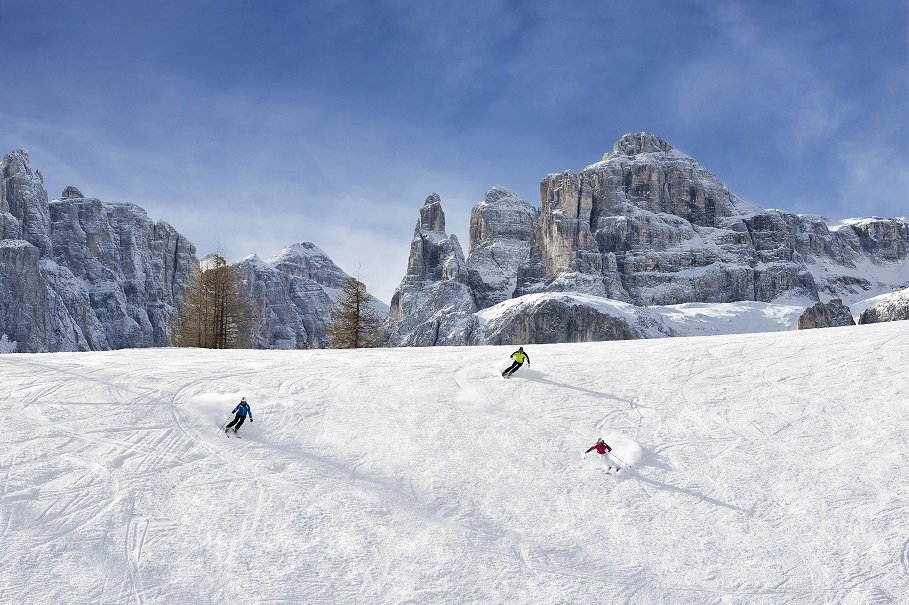 Take the plunge down the Val de Mesdi in Alta Badia, Italy - ©Alta Badia Tourist Office