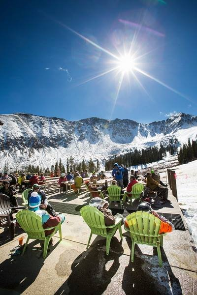Takin' in the opening day scenery - ©Dave Camara/Arapahoe Basin Ski Area