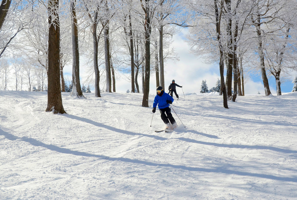 Skiing in Seven Springs - ©Seven Springs