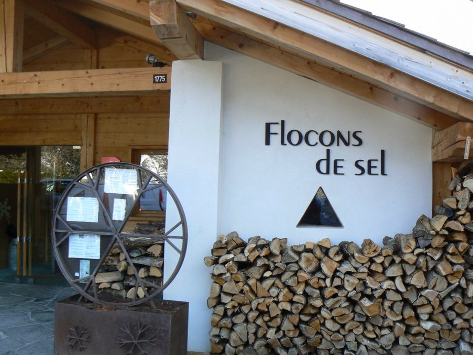 Flocons de sel restaurant in Megève courtesy of Martine Gillet