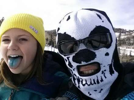 Had a great time teaching my daughter to ride. Need more snow!