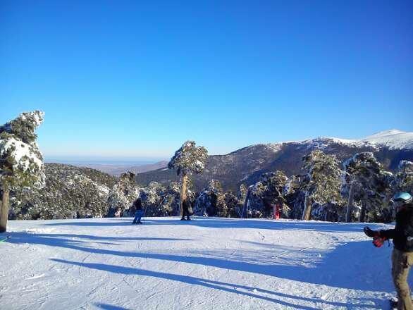 Puerto De Navacerrada Ski & Snowboard Photos
