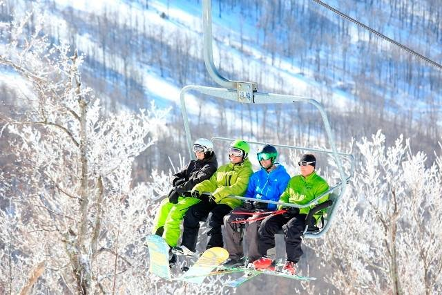 Direct-to-lift access means clocking more runs in the day. - ©Windham Mountain