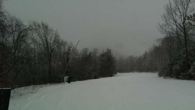 Skied yesterday, snowed all day, no lines, incredible conditions for December skiing in Ma.