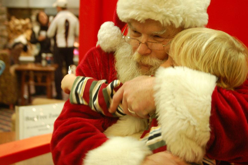 Hugs from Santa! - ©Bonnie MacPherson