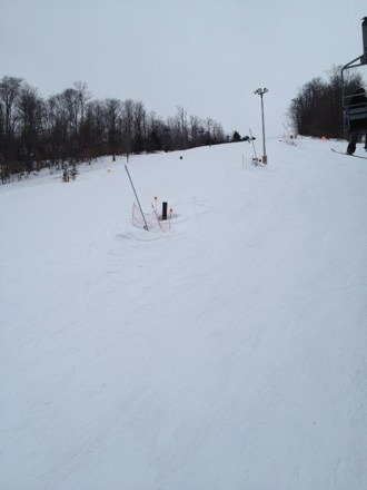 Worth the drive. Good conditions considering how warm it is and no one is here!