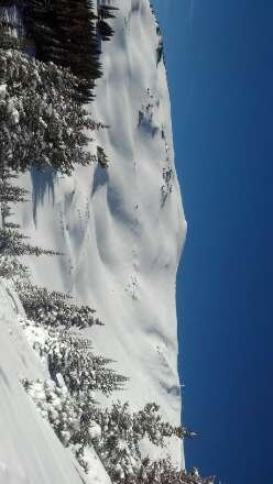 it is awesome. powder and bowls to open in a bit