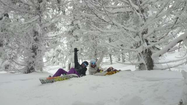 best freshy all week! favourite powder day all year ;)