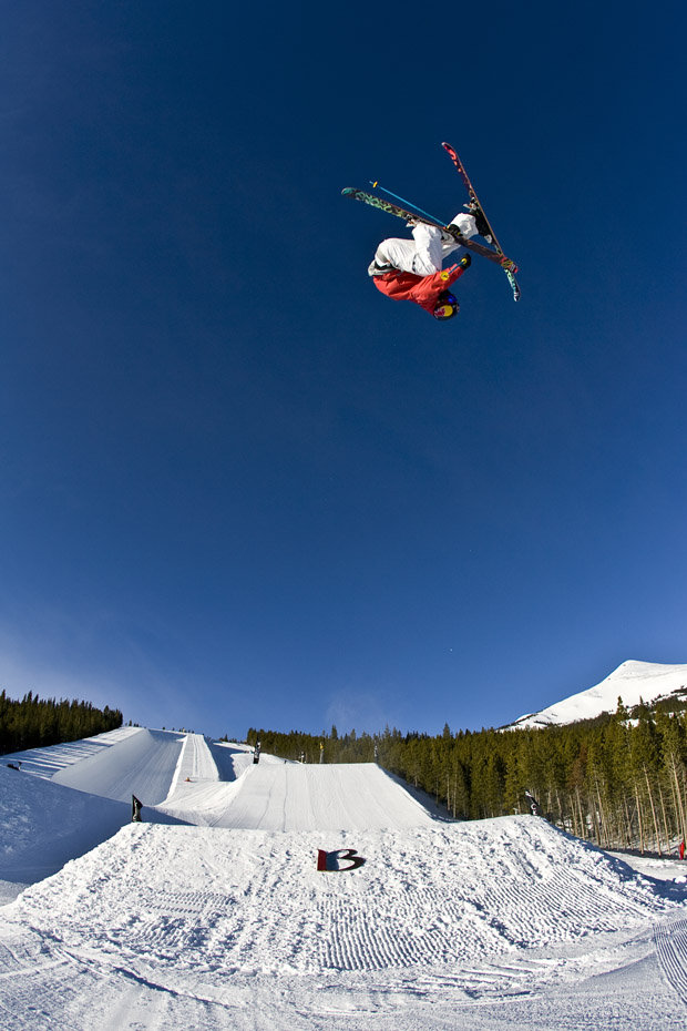 Tuck and roll. - ©Breckenridge Ski Resort