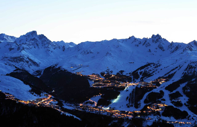 Courchevel at night - ©Patrick Pachod
