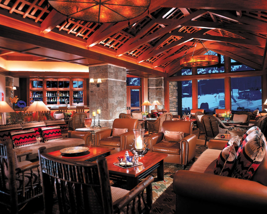 Ascent Lounge in the Four Seasons at Jackson Hole.