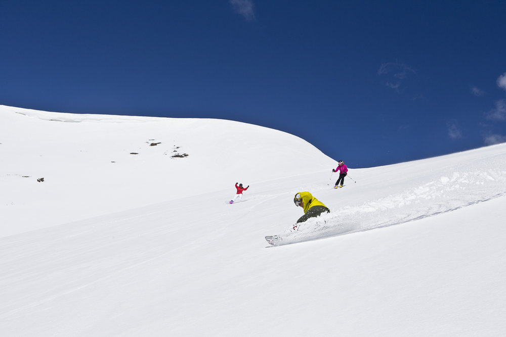 The potential for Breck's Peak 6 to become an advanced skier's mountain of choice is clear.
