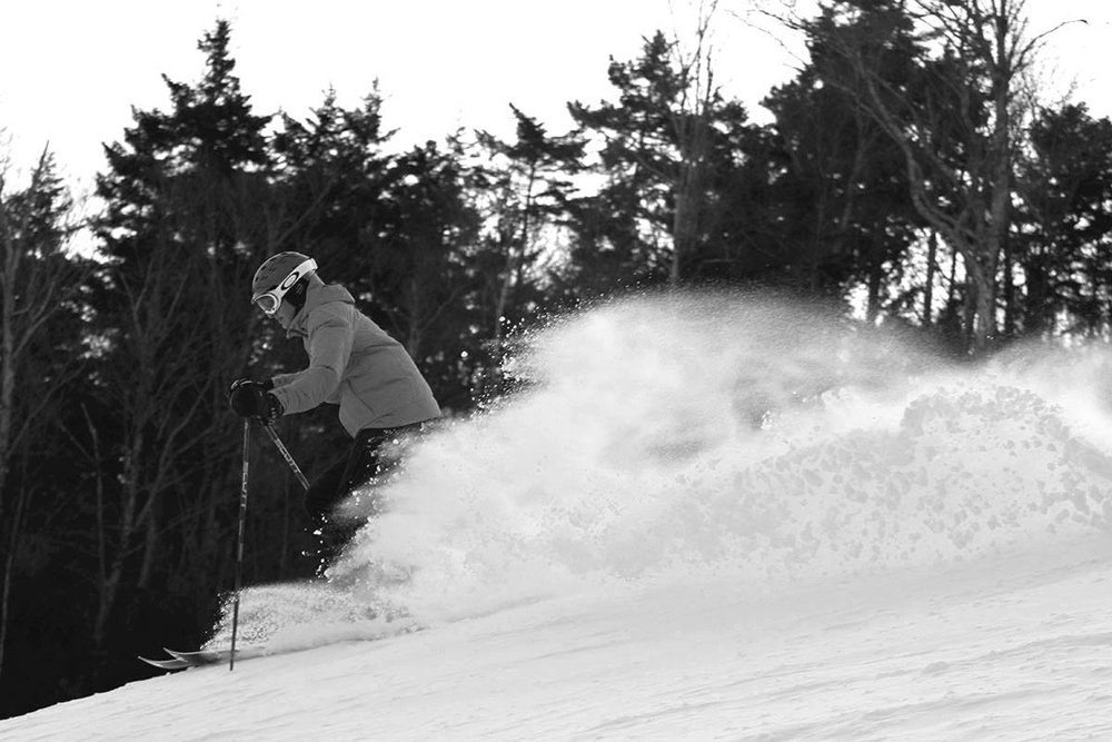 It's getting good in the Northeast. - ©Loon Mountain