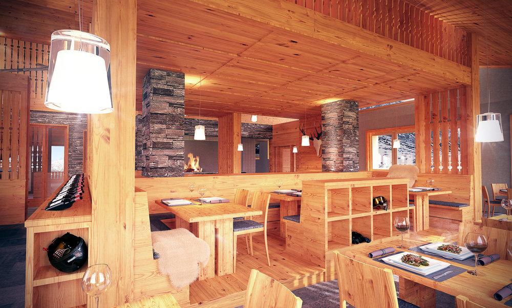 New restaurant Scharmoin - Arosa Lenzerheide - ©Arosa Lenzerheide