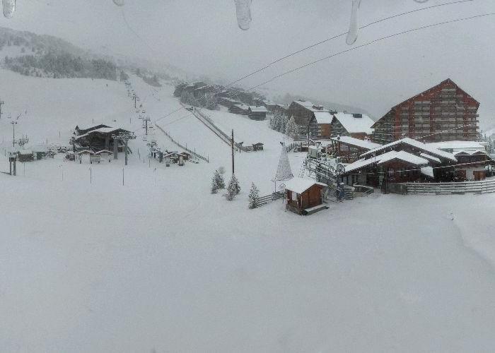 Snow in Meribel Nov. 15, 2013
