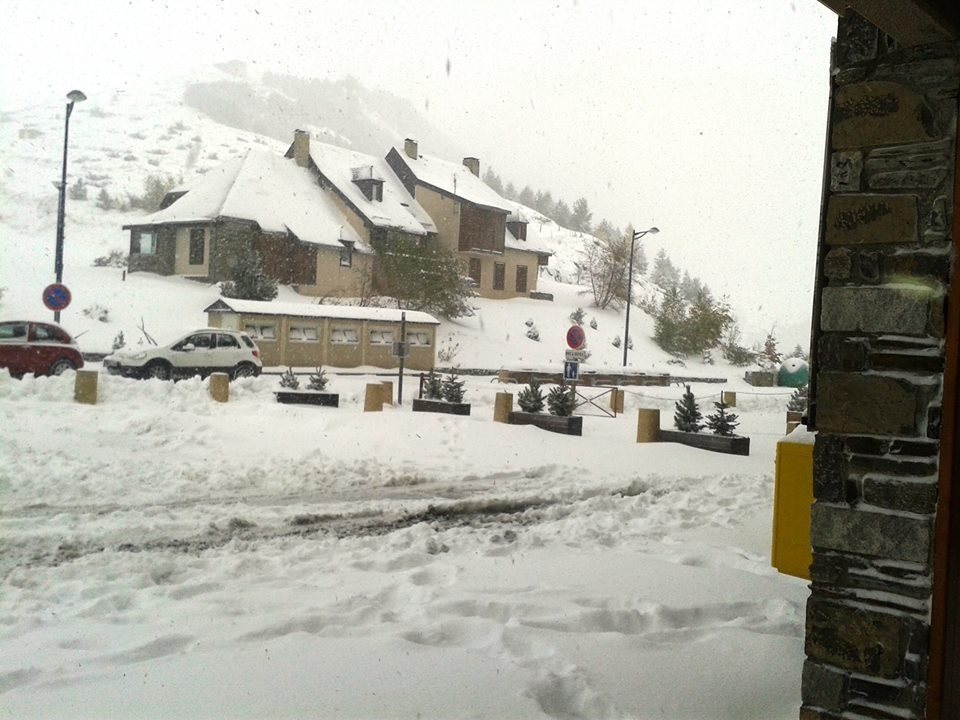 Snow in Peyragudes Nov. 15, 2013
