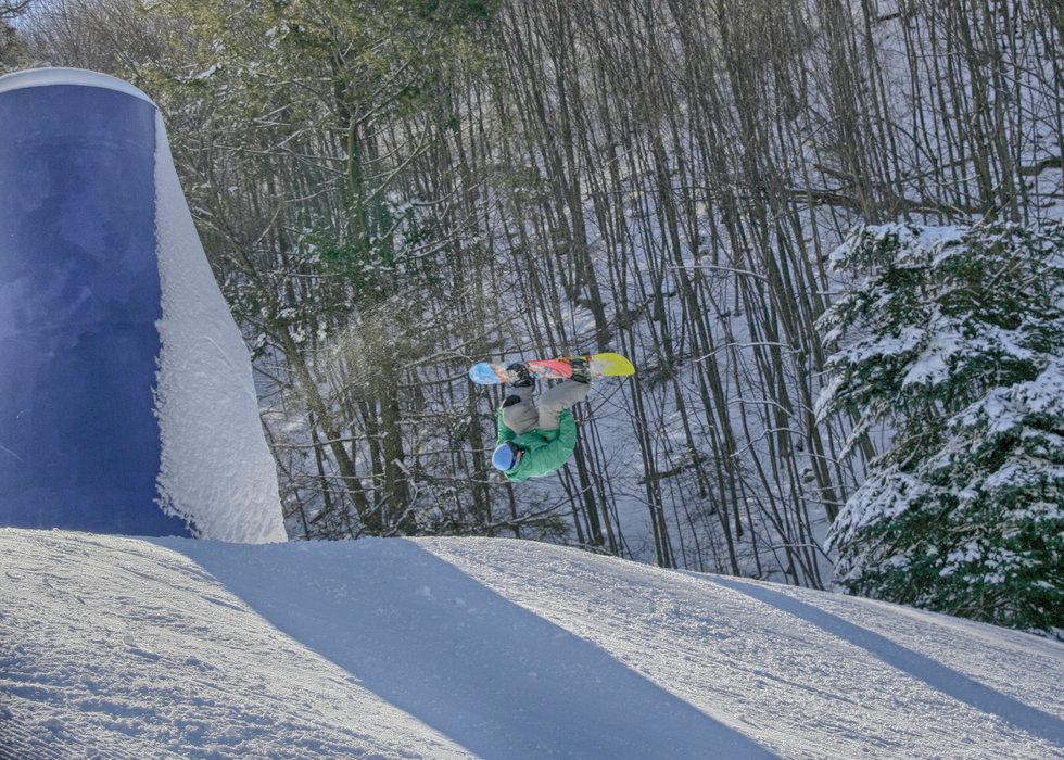 Round and round. - ©Blue Mountain Ski Area