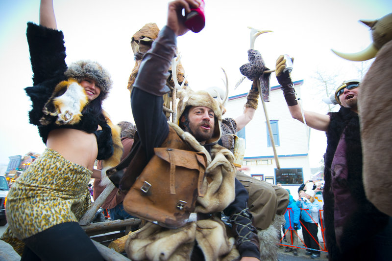 Ullr Fest is celebrated every January in Breckenridge. - ©Photo courtesy Carl Scofield.