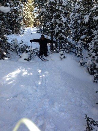 Def a lot of fresh pow pow in the trees boys!!!! Mind you the boat has some of the best tree runs in North America