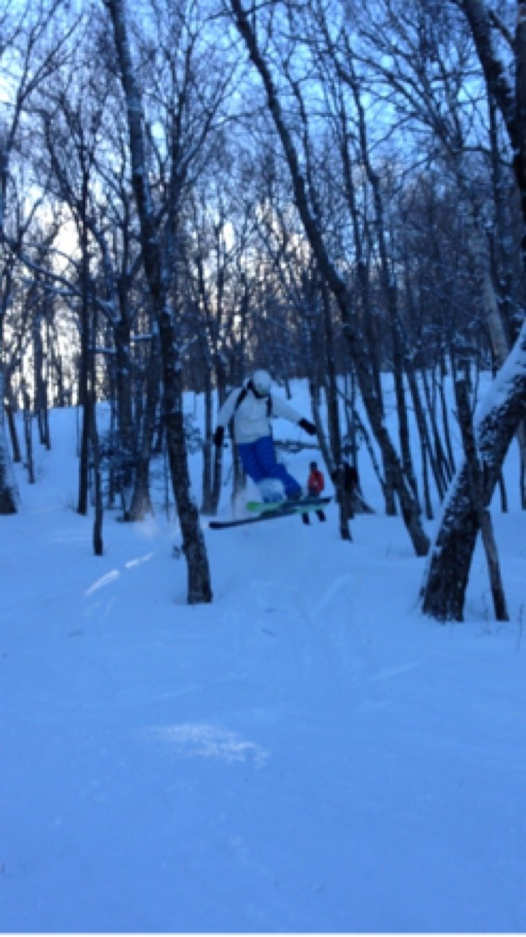 Great time skiing jay awsome conditions