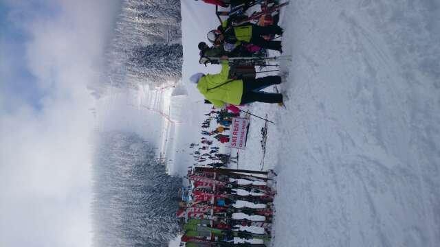 perfect ski conditions
