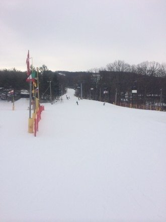Great day!! No crowd! Everything open. All groomed.