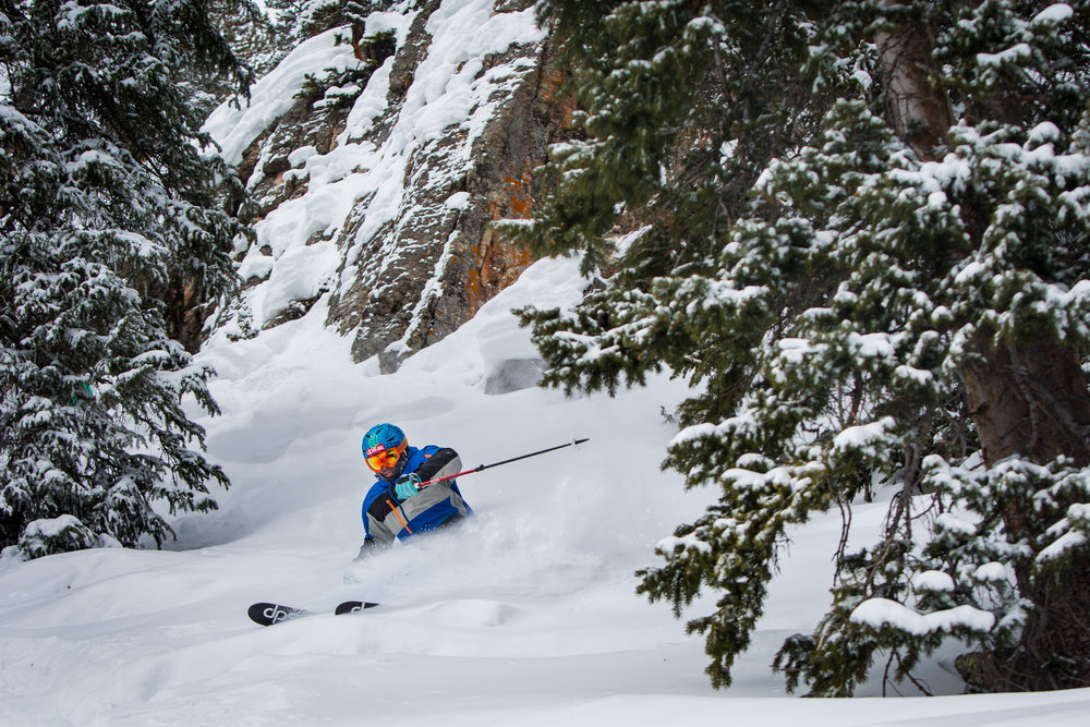 Deep powder in the glades at Snowmass. - ©Jeremy Swanson