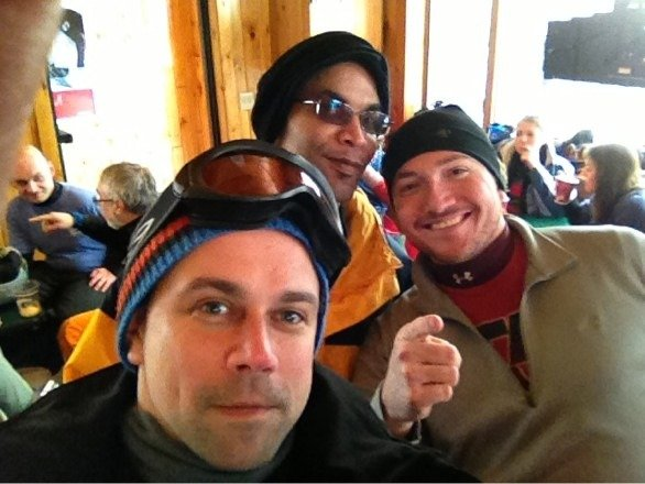 Great times boarding. Conditions were great, only a few icy spots. Pray for snow Wednesday.