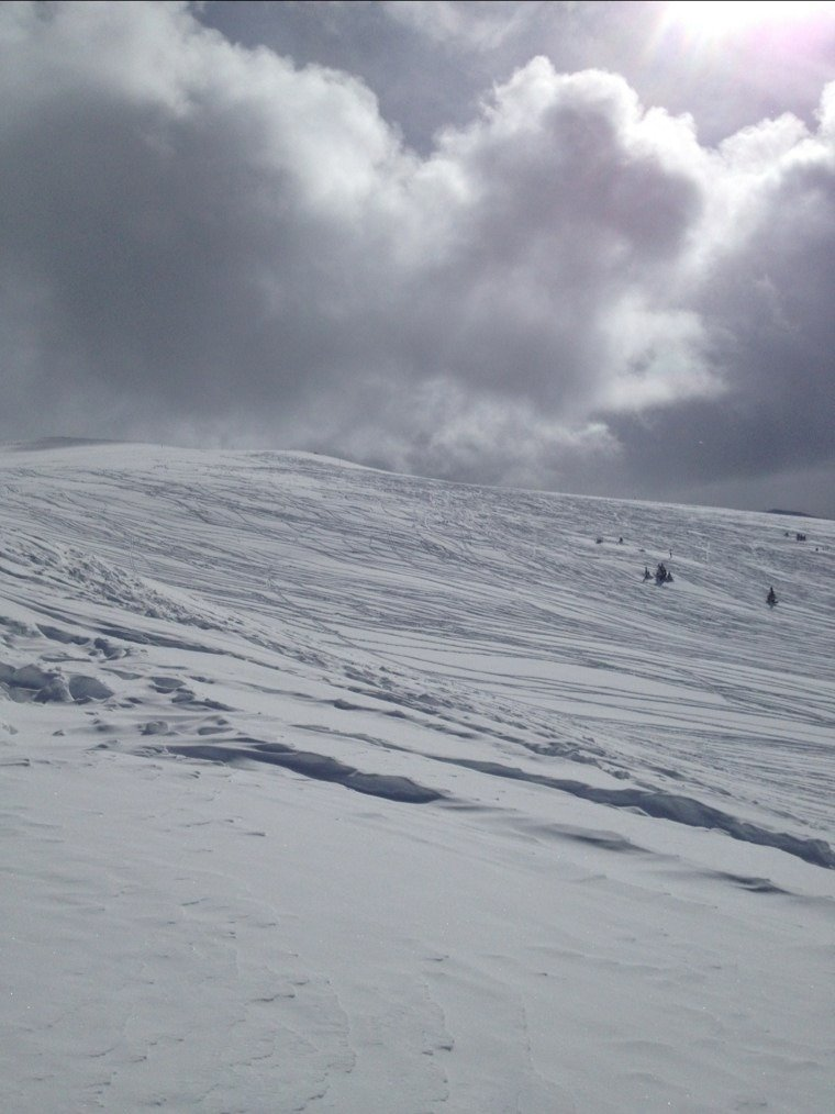 south bowl today still pow pow!