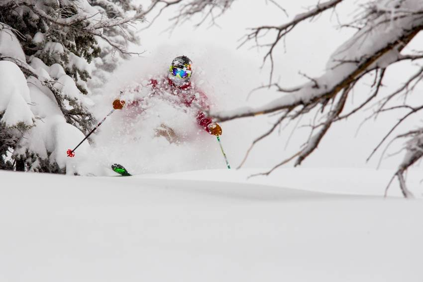 Aspen/Snowmass received more than four feet of snow last week, a steady dusting this week and more storms approaching the horizon.  - ©Aspen/Snowmass