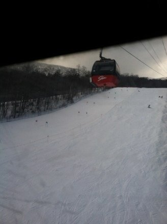 If u aren't here you should be. Amazing powder in the woods and packed on the slopes